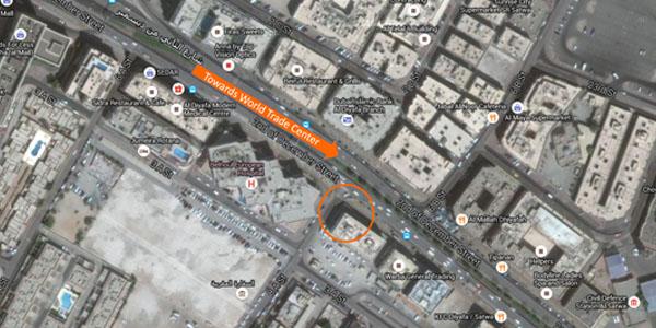 Al Diyafah Satellite View