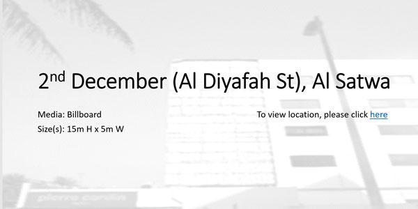 Al Diyafah St Al Satwa