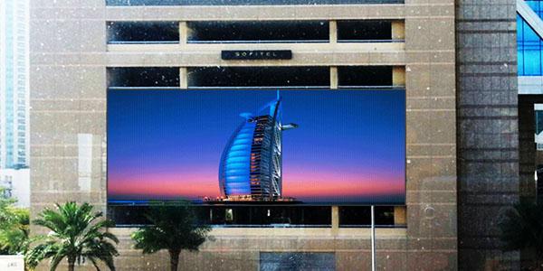 Sofitel Dubai Mall Advertising