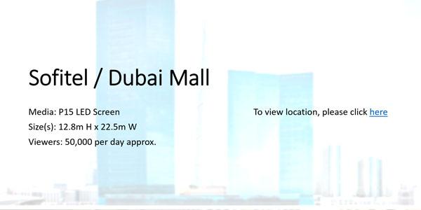 Sofitel Dubai Mall