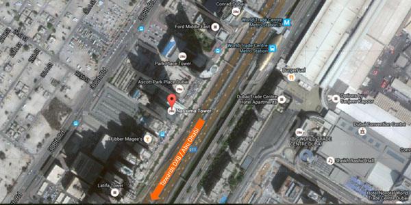 Naseema Tower Satellite View