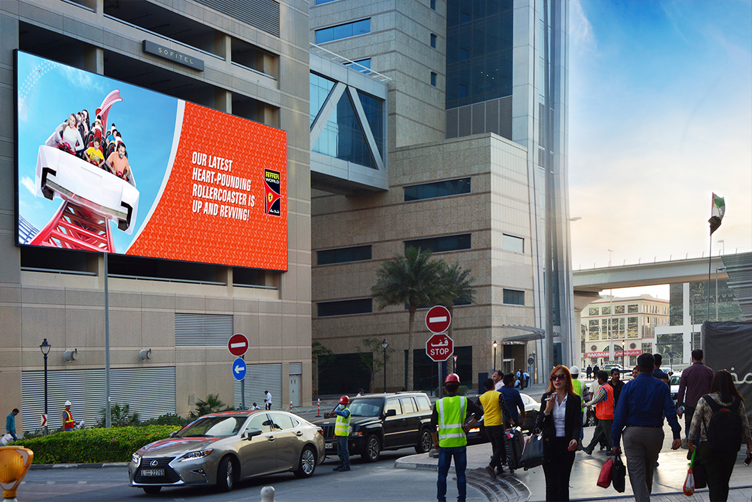 Become a landmark with LED SCREEN & CONSULTATION