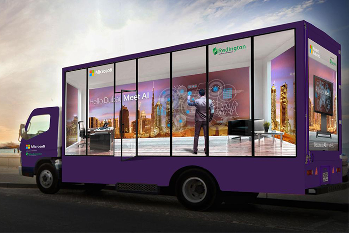 LED Screen Truck Advertising Dubai, UAE