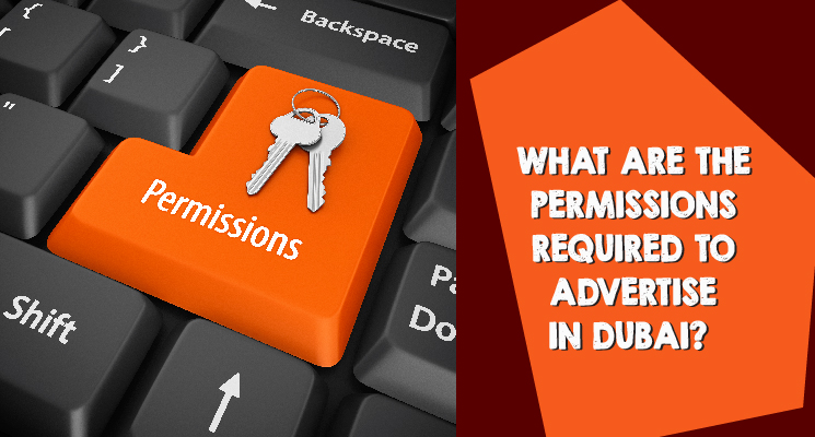What are the permissions required to advertise in Dubai?
